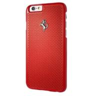 FERRARI Hardcase FEPEHCP6RE iPhone 6/6S perforated
