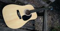 Gitara akustyczna STAGG SW 201N + pokrowiec
