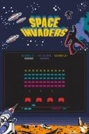 Space Invaders - plakat 61x91,5 cm