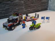 LEGO CITY 4433 transport motocykli