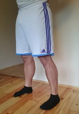 Spodenki męskie Adidas Performance białe XL