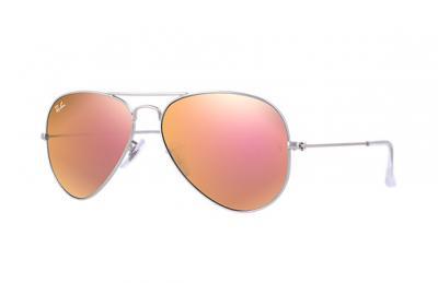 Ray-Ban aviator lustrzanki różowe 3026 - 6058963153 - oficjalne ... 5b87161ca4