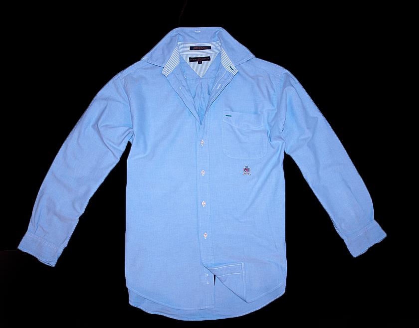 TOMMY HILFIGER koszula jeans L XL jak nowa jeansow