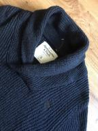 ABERCROMBIE&FITCH granatowy sweter (S)