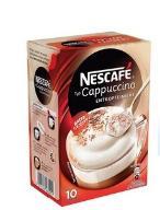 Nescafe CAPPUCCINO Bezkofeinowa SASZETKI z Niemiec