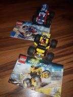 Lego Racers 9093, 9094 auta