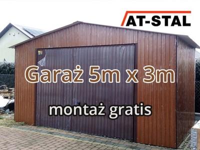Garaż Blaszany 5x3 Spad Do Tyłu Lubelskie 6712454984 Oficjalne