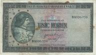 Czechosłowacja 1000 koron1945r
