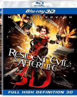 RESIDENT EVIL Afterlife 3D Blu-ray FOLIA