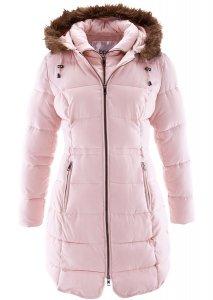Krótki płaszcz z kapturem różowy 42 XL 953934