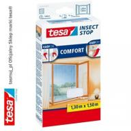 Moskitiera okienna tesa Comfort 1,3m x 1,5m biała