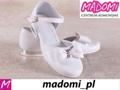 60180aba06 MADOMI buty dziewczęce do komunii komunijne 671 38 - 5795636624 ...