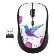 TRUST Yvi Wireless Mouse - bird