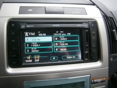 toyota corolla verso navigacja radio mp3 gps wieŻa - 6743359090