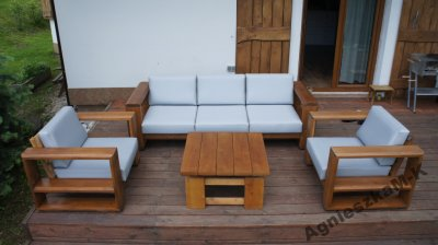 Meble Ogrodowe Drewniane Meble Tarasowe 6254775078