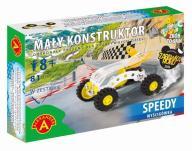 Mały Konstruktor. Wyścigówka - Speedy ALEX