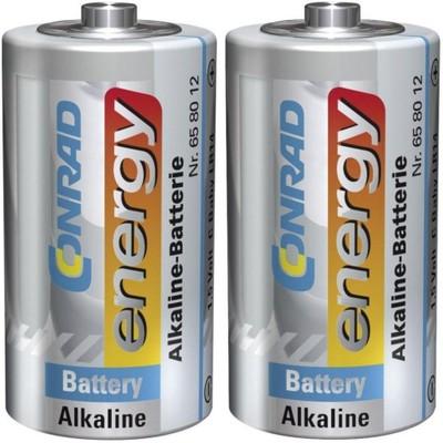 Zestaw 2 baterii alkalicznych Conrad Energy 1,5V