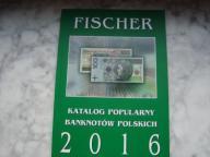 Katalog Banknotów Polskich-Fischer-2016