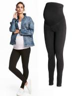 nowe legginsy ciążowe h&m S