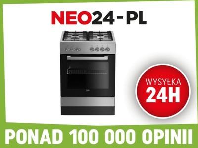 Kuchnia Gazowo Elektr Beko Fse62120dx Promocja