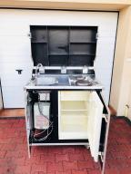 Kitcase pro-art kuchenka lodówka boiler