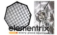 SOFTBOX plenerowy,GRID OCTA 150cm BOWENS OCT150RRR