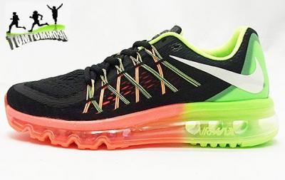 Buty Nike MęskieDamskie Nike Air Max 2015 Skórzany