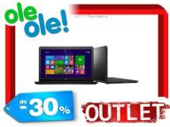 OUTLET! LAPTOP  DELL I3-4005 17,3'' 1TB NV920 W8.1