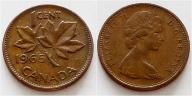 Kanada 1 cent 1965r