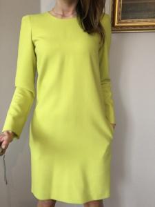56eb903b03 Simple CP sukienka LIMONKOWA Limonka 32 - 5998311721 - oficjalne ...