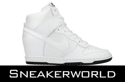 buy online 0ba2b 3f80d Buty Nike Dunk Sky Hi Białe 644877-101 r.36 - 40