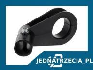 Uchwyt konwertera na rurkę czarny średnica 25mm