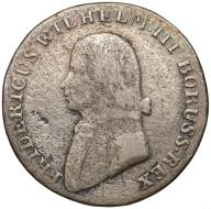 037. Prusy 4 grosze (1/6 talara) 1805-A, Berlin