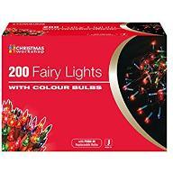 CHOINKOWE LAMPKI 200 LED KOLOROWE NOWE