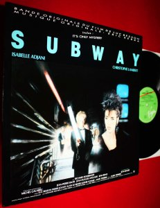 ERIC SERRA (WIELKI BŁĘKIT) SUBWAY - SOUNDTRACK LP