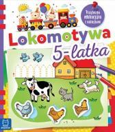 Lokomotywa 5-latka Książeczka Edukacyjna... 48h
