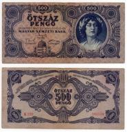 WĘGRY 1945 500 PENGO