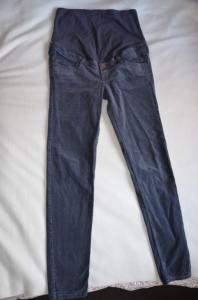 spodnie sztruksy h&m mama r. 40