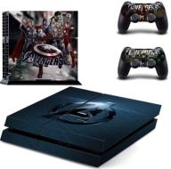 NAKLEJKA PS4 PLAYSTATION 4 AVENGERS MARVEL WYS. PL