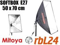 Softbox Mitoya oktagonalny E27 50x70cm Kraków