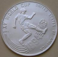 Kambodża - 20 riel - 1991 - MŚ 1994 - srebro