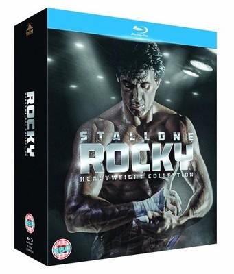 Rocky 1-6 [6 Blu-ray] Kompletna Saga /Napisy PL/