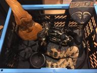 drewniane figurki afrykanskie