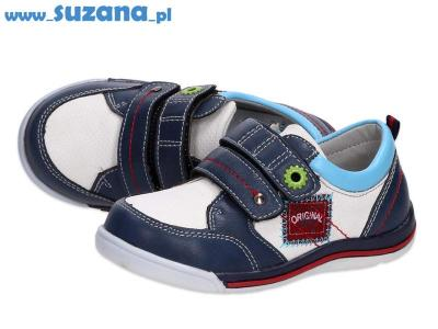 -30% Półbuty buty dziecięce BADOXX 6829 WT/NV r27