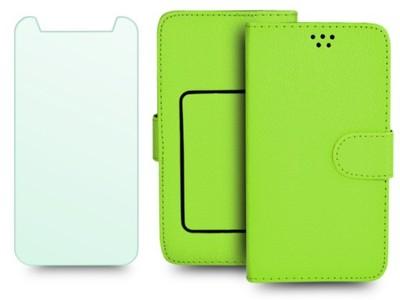 Etui książeczka SZKŁO do HTC One M9s
