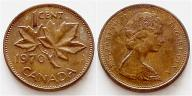 Kanada 1 cent 1970r