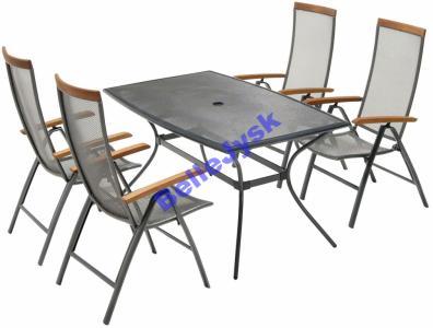 Larvik Krzesła Zestaw Ogrodowy Stół Oficjalne Jysk 4