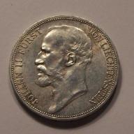 2 FR Liechtenstein 1912 rzadkość - egz. 2-gi