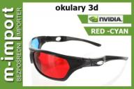 OKULARY 3D RED CYAN anaglify 3D MODEL 2016