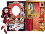 Ever After High Księga+Lizzie Hearts CDM54 W-WA